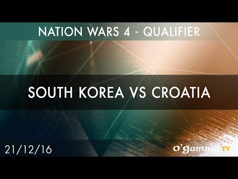 South Korea vs Croatia - Nation Wars 4 Qualifier - Starcraft II - EN