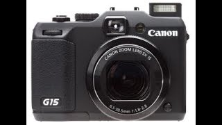 Is the canon powershot g15 worth it??