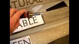 Wood Burning 101, Pyrography Letters,  Signs For Fun On Recycled Wood