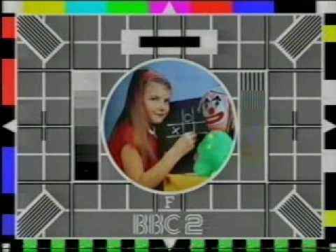 BBC2 Test card 1986
