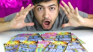 $4,000,000 VS $250,000,000 SCRATCH CARD X10...!!!