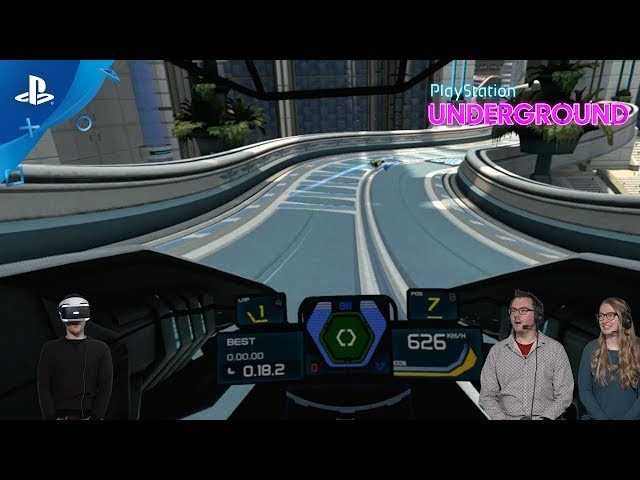 WipEout Omega Collection - VR Gameplay | PS Underground