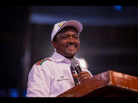 Kalonzo Musyoka's full speech during the unveiling of NASA Flagbearer