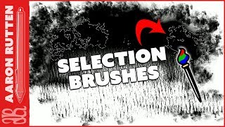Selection Brushes (Corel Painter Course Sample)