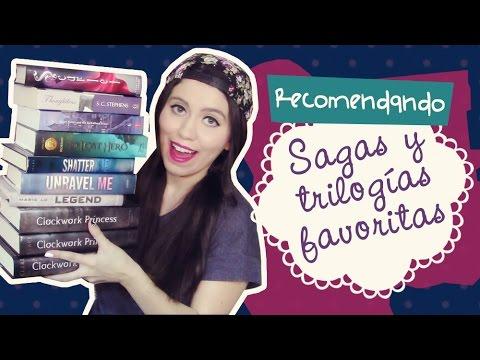 ¡Recomendando mis sagas y trilogías favoritas! | Clau R.