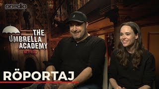 Netflix'in Yeni Dizisi The Umbrella Academy Oyuncularıyla Röportaj Yaptık!