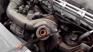 DIY:VW TOURAN 1.9TDI HOW TO CHANGE OIL,OIL FILTER AND AIR FILTER