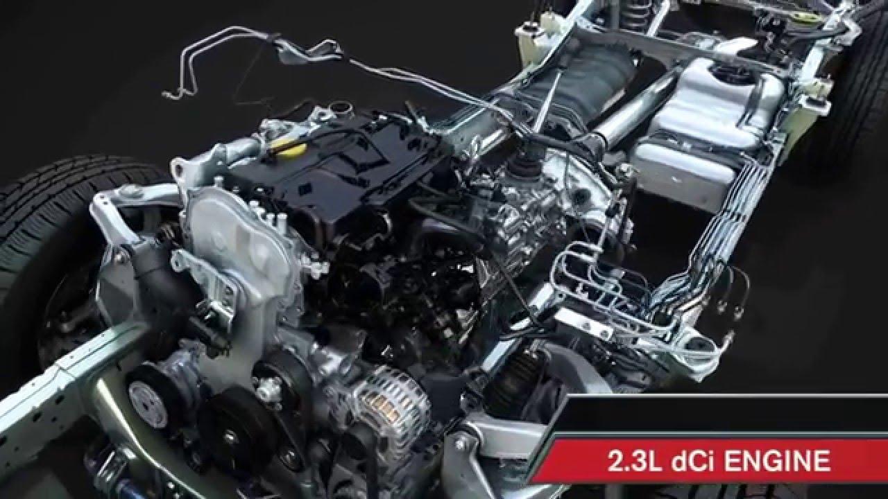 Chasis y mecánica Nissan NP300 Navara - YouTube