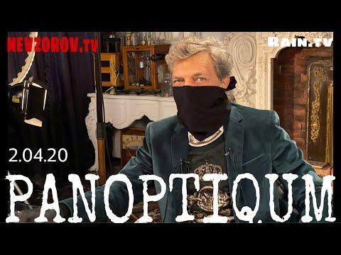 Невзоров и Уткин  в программе «Паноптикум» на тв Дождь. Путин, карантин, конец.. 02.04.20