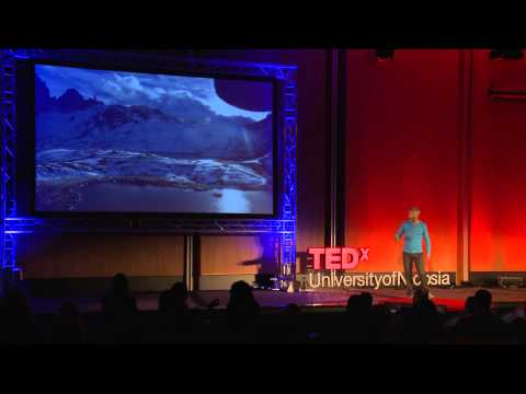 Look Deeper at Snow Drawing: Snow Art | Simon Beck | TEDxUniversityofNicosia