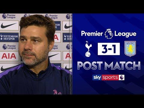The Real Reason Vertonghen Was Dropped   Mauricio Pochettino Post Match   Spurs 3-1 Aston Villa