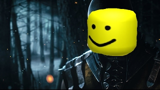 The Mortal Kombat X Trailer but with with the Roblox Death sounds