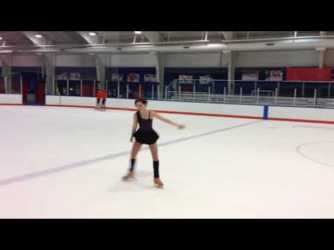 Sydney Developing Figure Skating Routine