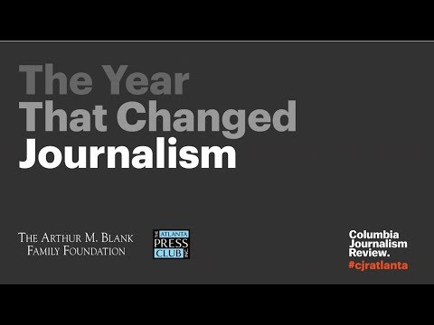 The Year That Changed Journalism:  The Trump Effect