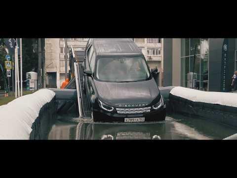 ТЕСТ ДРАЙВ британца LEND ROVER  от Jaguar Land Rover Experience обзор Auto Live