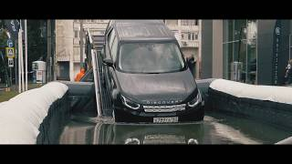ТЕСТ ДРАЙВ британца LANDROVER от JaguarLandRoverExperience обзор Auto Live