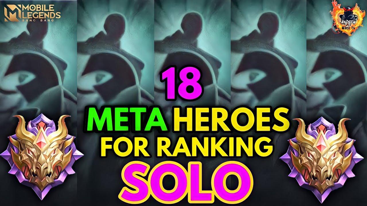 Download 18 BEST META HEROES FOR SOLO RANK 2021 | MOBILE LEGENDS BEST HEROES