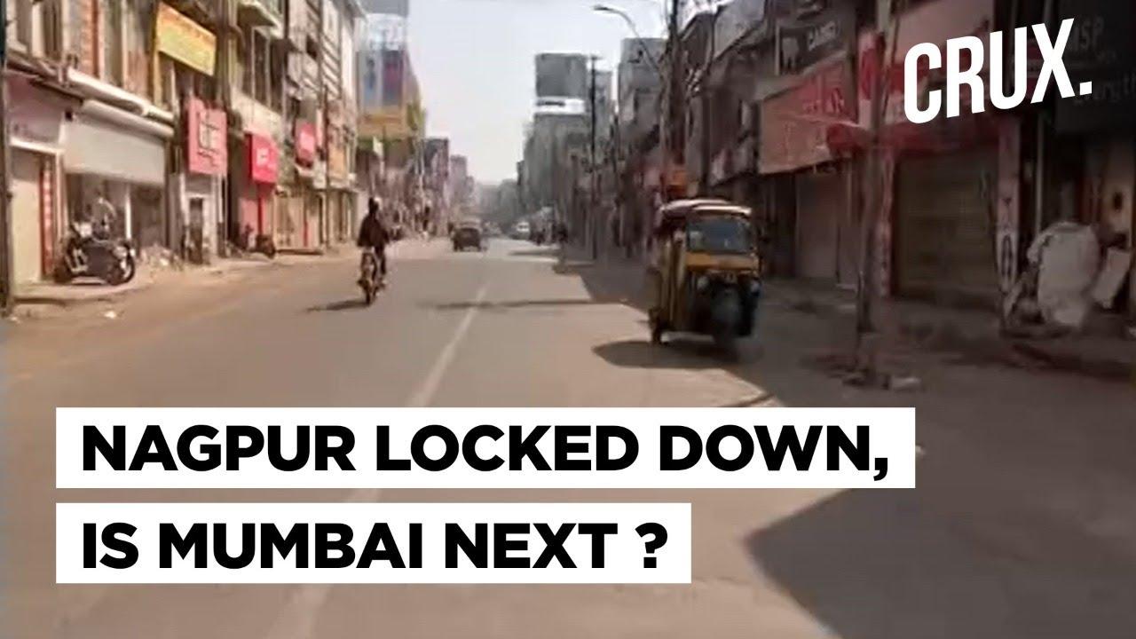Download Maharashtra Covid Surge: Mumbai Next After Nagpur Goes Into Lockdown? | CRUX