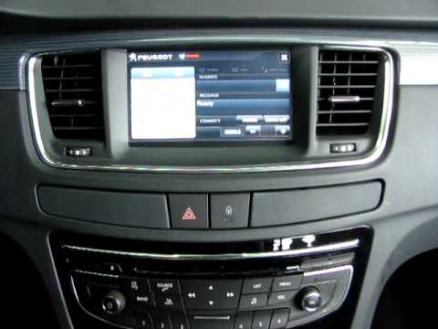 peugeot 508 multimedia system youtube. Black Bedroom Furniture Sets. Home Design Ideas