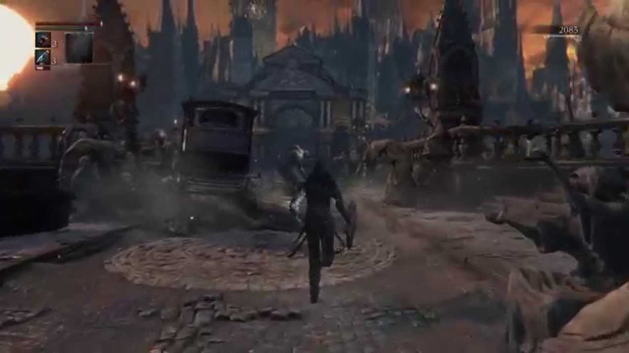 Bloodborne(ブラッドボーン) 冒頭プレイ動画