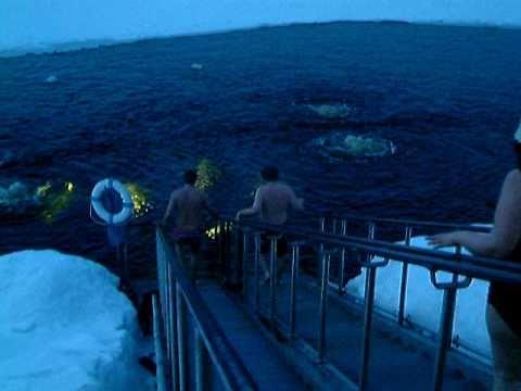 Bagno nel lago ghiacciato in finlandia youtube - Bagno finlandese ...