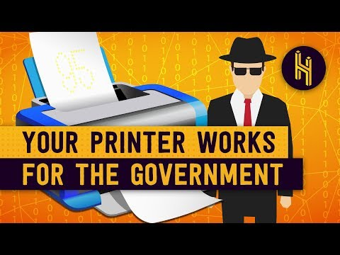 The Secret Codes That Printers Put On Every Paper