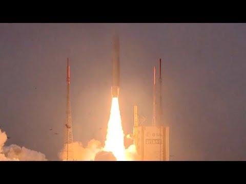 Full Ariane 5 VA240 Galileo FOC-M7 19-22 Navigational Satellites Launch Coverage