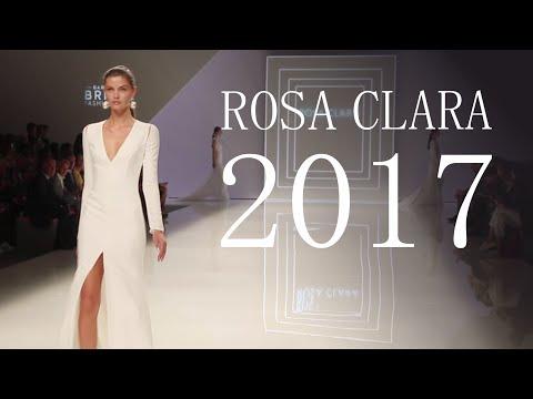 Desfile ROSA CLARÁ Vestidos de Novia 2017 (con Alexis Ren)