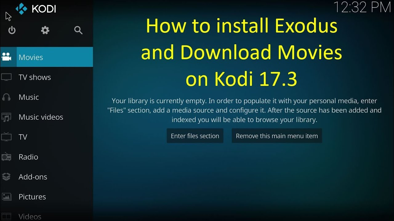 How to download movies and tv shows from kodi pwrdown.