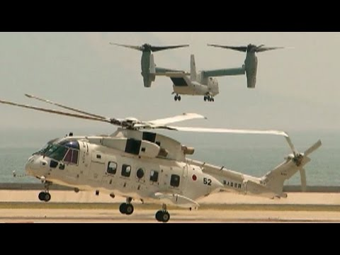 Bell Boeing V-22 Osprey working for the Air Force & Marines