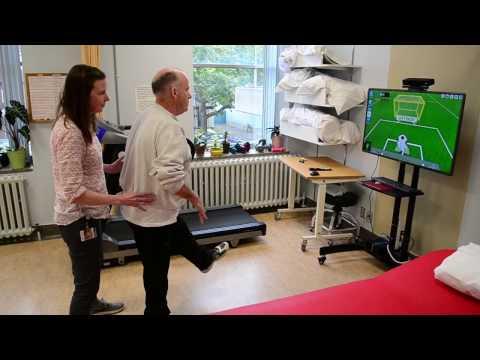 Virtual Reality Stroke Rehabilitation Exercice - Oct 2016