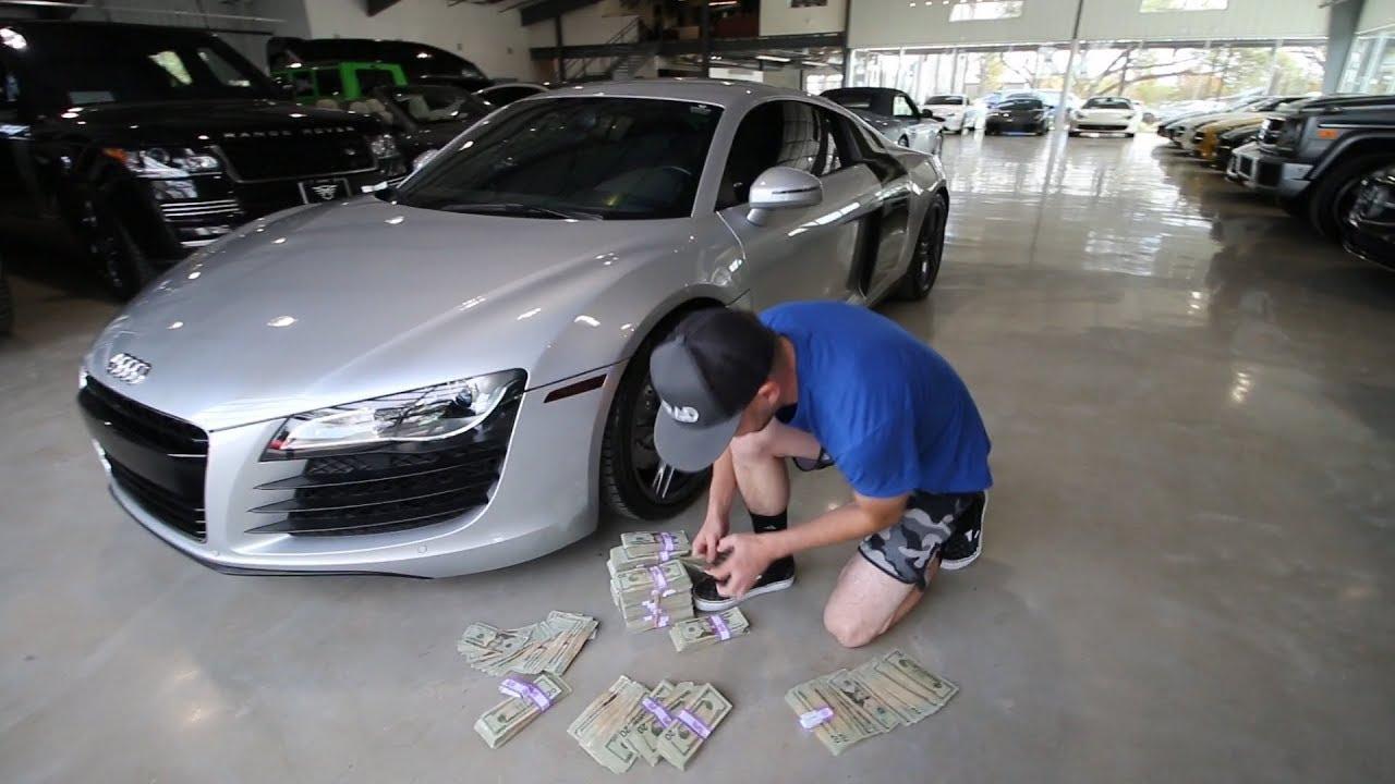 Ing My Audi R8 In Cash