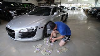Buying my new Supercar in CASH!!