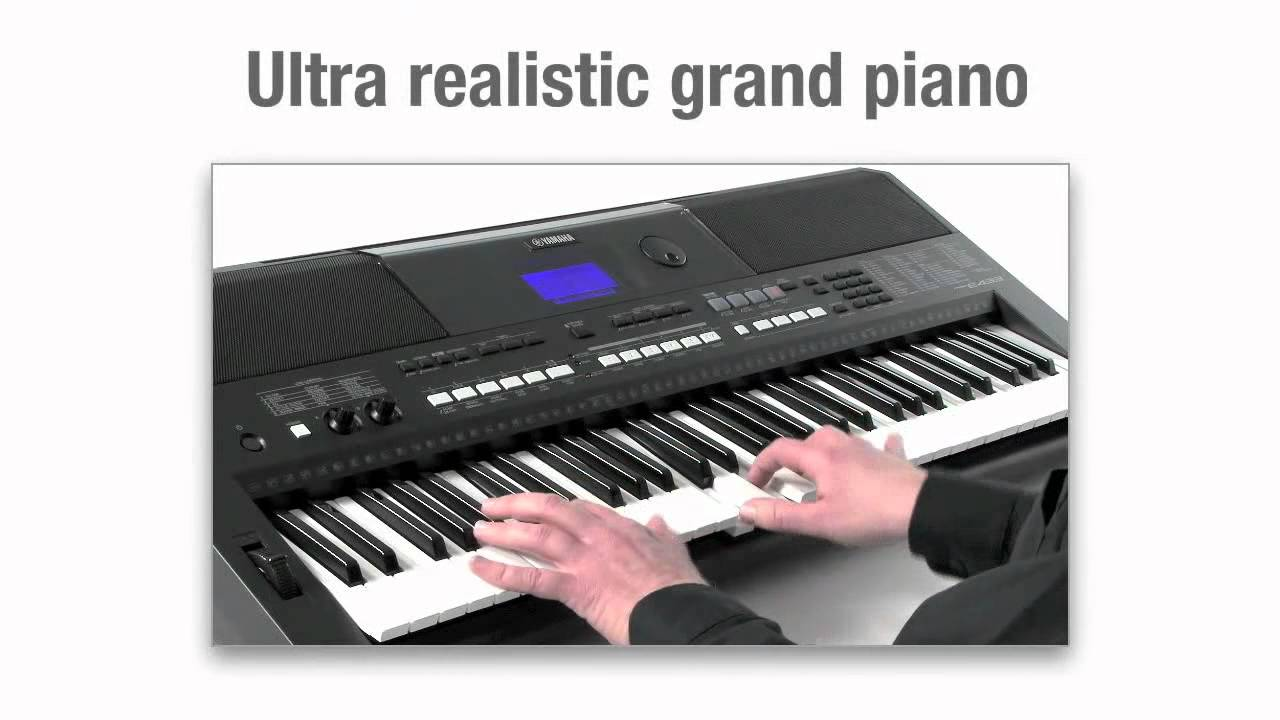 yamaha psr e433 demo youtube. Black Bedroom Furniture Sets. Home Design Ideas