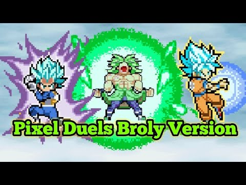 The Pixel Duels Are Back Again Dragon Ball Xenoverse 2 Dragon Ball Super Broly Version