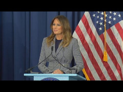 Kid Jay - Melania Trump Jokes About Being Late Following Plane Scare