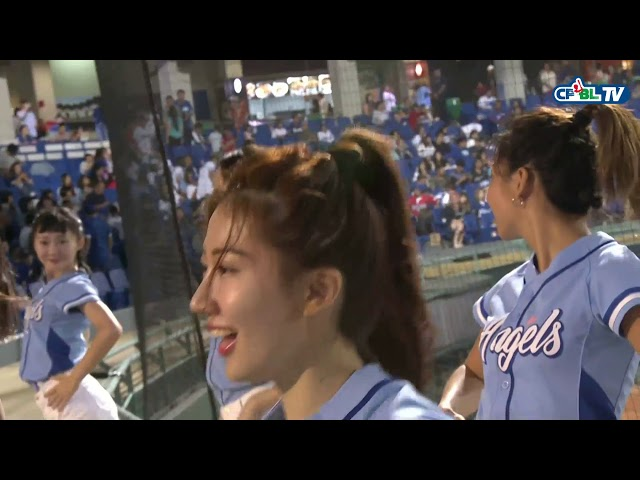09/22 統一 vs 富邦 中場,Fubon Angels帶來精彩的舞蹈表演