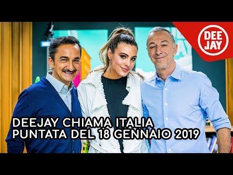 Deejay Chiama Italia - Puntata del 18 gennaio 2019, ospite Lele Pons