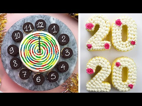 How to Make Cake Decorating With These Yummy New Year's Eve Party Treats | So Yummy Cake Recipes