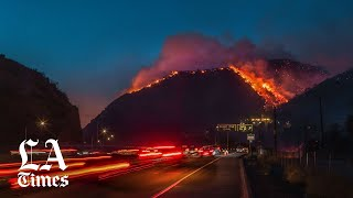 Getty fire: 'Extreme' warning issued ahead of brutal Santa Ana winds