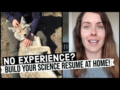 FUN & FREE Science Activities To Put On Your Resume! (Environmental & Wildlife Biologists)