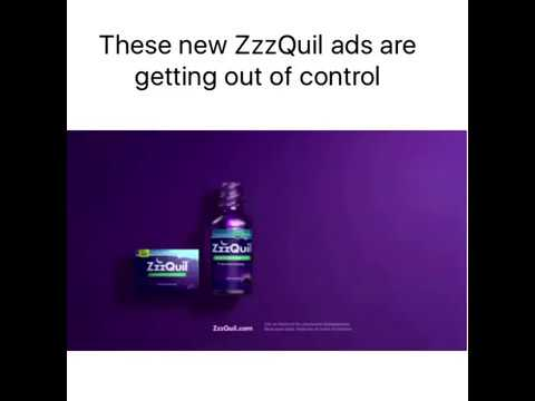 These New Zzzquil Ads Are Getting Out Of Control Youtube