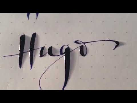 Fancy Letters - How To Design Your Own Swirled Letters |Writing techniques