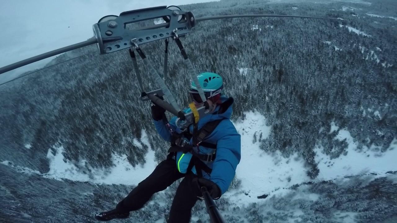 Whistler - Cougar Mountain Zip line - Jan 2017
