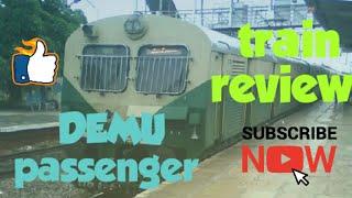 DEMU (Diesel multiple unit)passenger travel vlog|train review|tamil vlog