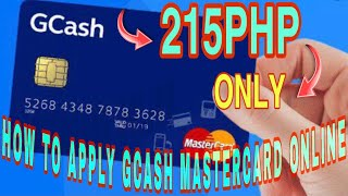 HOW TO APPLY GCASH MASTERCARD ONLINE / EASY TUTORIAL / UPDATE 2021