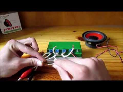 Proyecto alarma para autos - YouTube