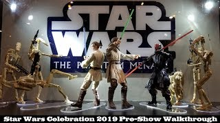 Star Wars Celebration 2019 Early Walkthrough: Hasbro, Bluefin, and General Attractions!