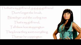 Nicki Minaj - Girlfriend Lyrics Video