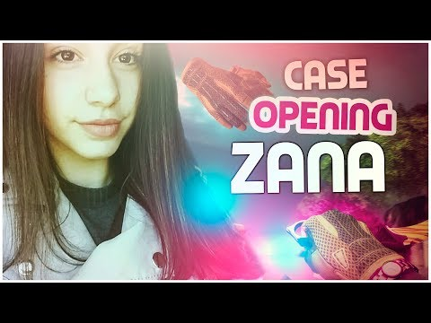 ZANA SOFS: CASE OPENING (SAIU LUVAS)